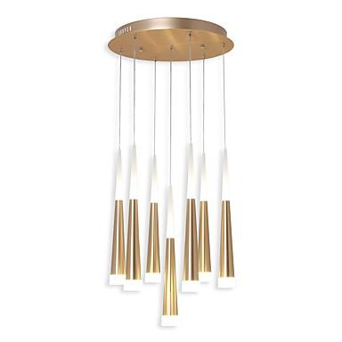 Ecolight™ 7-Light Sylinder / Cone / Originale Anheng Lys Omgivelseslys eloksert galvanisert Aluminum Akryl Kreativ, Justerbar 110-120V / 220-240V Varm Hvit / Hvit