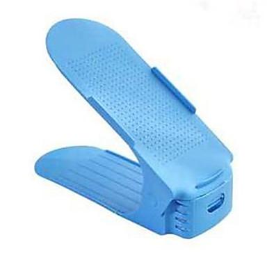 abordables Accessoires pour Chaussures-Cintre & Range Chaussures EPP 1 paire Unisexe Bleu / Rose Claire / Violet