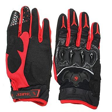 Cijeli prst Sve Moto rukavice Koža / Spandex Lycra / Vlakno Prozračnost / Protective