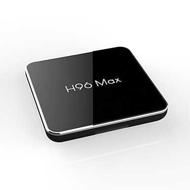 H96 max 4G-64G TV Box Android 8.1 TV Box Amlogic S905X2 4GB Baran 64GB ROM 4-rdzeniowy Nowy design