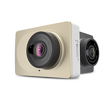 Xiaomi YI 1920 x 720 / 1296P Mini / Anti-Shock / Wide Angle Car DVR 160 Degree / 165 Degree Wide Angle 12.0MP CMOS 2.7 inch LCD Dash Cam with auto on / off Car Recorder