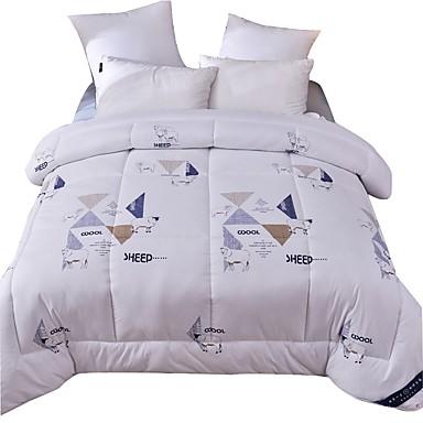 Udobno - Prekrivač komforter (1 kom.) / 1pc prekrivač Pasti / Zima Vuna Print / Slovo / Prošiveno