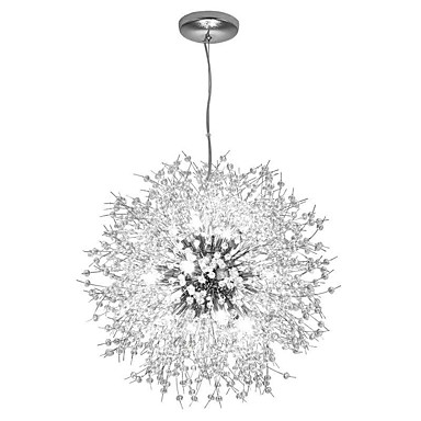 OBSESS® Kristal / Glob Lusteri Ambient Light Electroplated Metal Crystal, Mini Style, Zaštita očiju 110-120V / 220-240V Meleg fehér / Hladno bijela