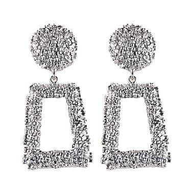 Žene Viseće naušnice Geometrijski Zvjezdana prašina dame Mértani Europska Moda Naušnice Jewelry Zlato / Pink Za Party Kauzalni 1 par