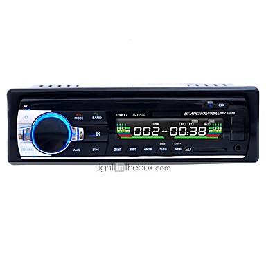 3.5 Pollici 1 Din Car Stereo Bluetooth, 4x60 W Car Audio Radio Fm, Lettore Mp3 Usb - Sd - Aux Chiamata A Mani Libere Con Telecomando Senza Fili #05859286 Servizio Durevole