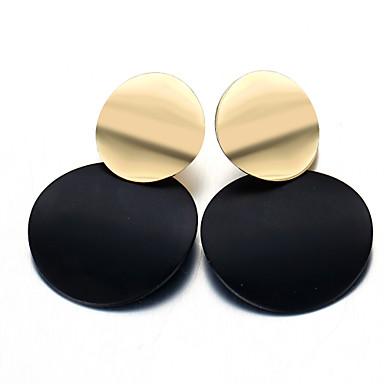 Žene Viseće naušnice Klasičan dame Jednostavan Vintage Naušnice Jewelry Crn Za Zabava / večer Praznik 1 par