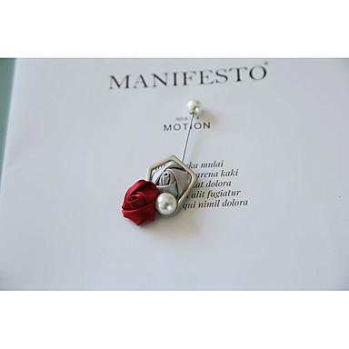Žene Broševi neprilagođeno Broš Jewelry Sive boje Lila-roza Za Vjenčanje Svečanost
