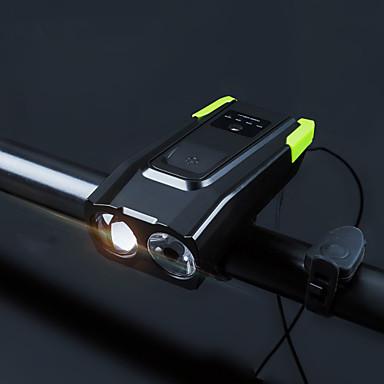 Dva LED svjetla Svjetla za bicikle Prednje svjetlo za bicikl sigurnosna svjetla Svjetlo za bicikle 5mm Svjetiljka LED Brdski biciklizam Biciklizam Vodootporno Prijenosno Quick Release Li-polymer 4000