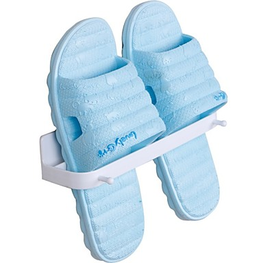 abordables Accessoires pour Chaussures-Cintre & Range Chaussures Plastique 2 paires Unisexe Chocolat / Blanc / Gris foncé