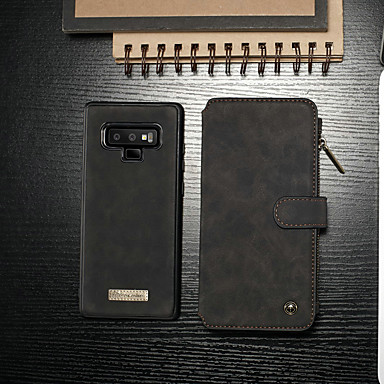 Θήκη Za Samsung Galaxy Note 9 Novčanik / Utor za kartice / sa stalkom Korice Jednobojni Tvrdo PU koža