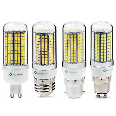 SENCART 1pc 6 W LED klipaste žarulje 950 lm E14 G9 GU10 T 180 LED zrnca SMD 2835 New Design Ukrasno Toplo bijelo Bijela 220-240 V 110-130 V