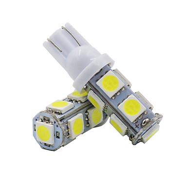 povoljno Auto unutrašnja svjetla-2pcs T10 Motor / Automobil Žarulje 2 W SMD 5050 120 lm 9 LED Žmigavac svjetlo / Svjetla u unutrašnjosti Za Univerzális Univerzalno