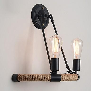 Cool Retro Zidne svjetiljke Spavaća soba Metal zidna svjetiljka 220-240V 40 W