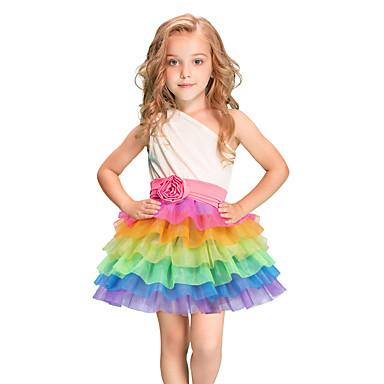 fcac5d89b86b Carnival Unicorn Costume Kid s Adults  Girls  Mesh Halloween ...