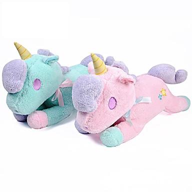 voordelige Knuffels & Pluche dieren-eenhoorn Knuffels & Pluche dieren Aanbiddelijk comfy Katoen / Polyester Allemaal Speeltjes Geschenk 3 pcs