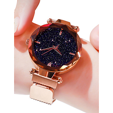 cheap Women's Luxury Watches-Women's Luxury Watches Wrist Watch Quartz Watches Black / Blue / Purple 30 m Water Resistant / Waterproof Imitation Diamond Analog Ladies Casual Fashion - Purple Blue Rose Gold