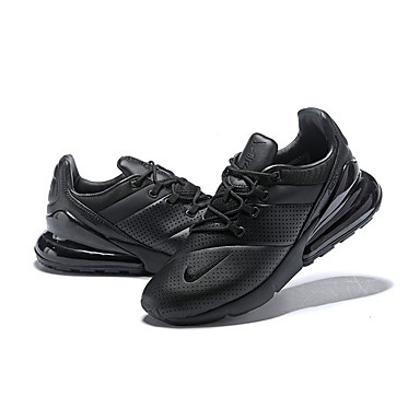60ba843613f9 NIKE Men s Light Soles Leather Spring   Fall Athletic Shoes Fitness   Cross  Training Shoes Breathable Black