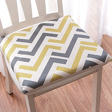 billige Overtrekk-Stolepuder Trykt mønster Reaktivt Trykk Polyester slipcovere