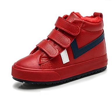 baratos Sapatos de Criança-Para Meninos Borracha Tênis Criança (9m-4ys) / Little Kids (4-7 anos) Conforto Branco / Preto / Vermelho Outono