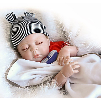 abordables Poupées Reborn-NPKCOLLECTION NPK DOLL Poupées Reborn Bébés Garçon 18 pouce Silicone complet Vinyle - Nouveau née Cadeau Mignon Pour enfants Garçon Jouet Cadeau