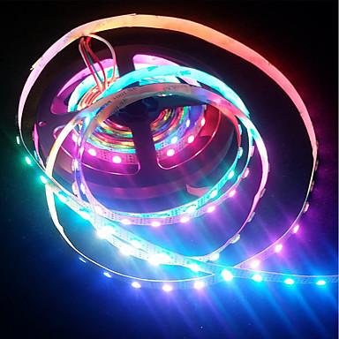 economico Luci decorative-brelong smd5050 150led rgb 24 tasti luce a membrana impermeabile con telecomando epossidico 5v