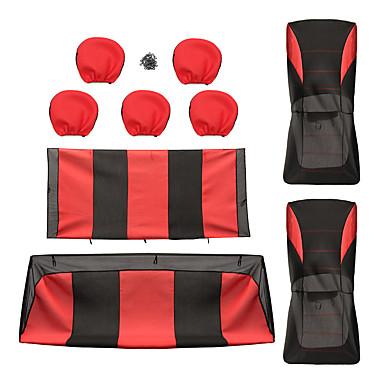 voordelige Auto-interieur accessoires-Auto-stoelhoezen Stoel hoezen Doek Standaard Voor Universeel Alle jaren Alle Modellen