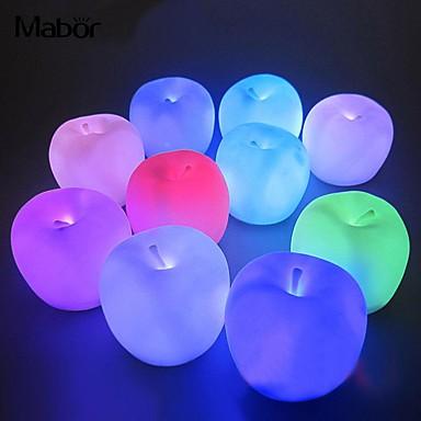 Décorations de vacances Nouvel An / Décorations de Noël Eclairage de Noël / Décorations de Noël Lampe LED / Décorative Multi-couleurs 1pc