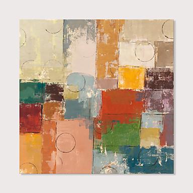 halpa Tulosteet-Painettu Pingoitetut kanvasprintit - Abstrakti Moderni Moderni Art Prints