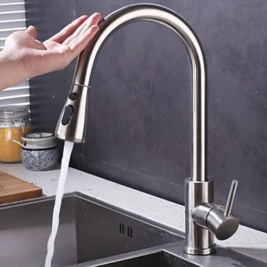 Kitchen Faucet Single Handle One Hole Standard Spout Contemporary Kitchen Taps