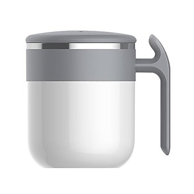 cheap Office & School-Powered by Hot Water Self Stirring Coffee Mug Cup Thermal Magnetic Powered PTFE Rotor Stirrer Premium Stainless Steel No Battery Plug Required Coffee Mixing 300ml - Heart Craftsman