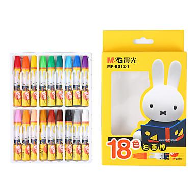 1 Pcs 18 Colori M&g Mf9012-1 Pastello A Olio Colorato #07129819