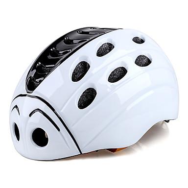 abordables Casques de Cyclisme-Kingbike Enfant Casque de vélo 21 Aération CE Résistant aux impacts Intégralement moulé Ventilation EPS PC Des sports Vélo de Route Vélo tout terrain / VTT Activités Extérieures - Blanc Bleu Garçon