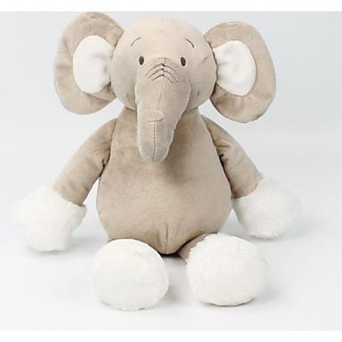 voordelige Knuffels & Pluche dieren-Olifant Knuffels & Pluche dieren Dieren Schattig Katoen / Polyester Allemaal Speeltjes Geschenk 1 pcs
