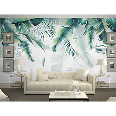 cheap wallpaper online wallpaper for 2019wallpaper mural canvas wall covering adhesive required art deco trees leaves 3d