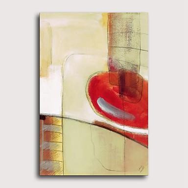 프린트 압 연된 캔버스 인쇄 - 추상적인 경치 클래식 우아한