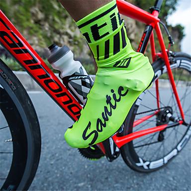 Brioso Santic Per Adulto Copriscarpe Da Ciclismo Ompermeabile Anti-scivolo Sport Vari Ciclismo - Bicicletta Verde Nero Rosso Unisex Scarpe Da Ciclismo #07119688 Sconti Prezzo