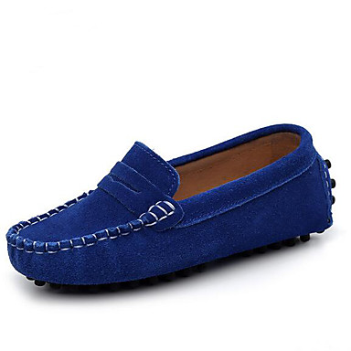 16bae05e876 Boys' Shoes Cowhide Spring & Fall Comfort Loafers & Slip-Ons for Black /  Brown / Royal Blue