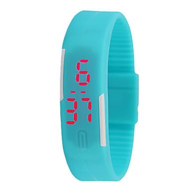 baratos Relógios Homem-Casal Relógio Esportivo Digital Azul / Vermelho Não LCD Digital Fashion - Vermelho Azul Azul Claro Um ano Ciclo de Vida da Bateria