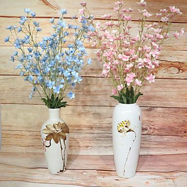 Keinotekoinen Flowers 1 haara Klassinen Eurooppalainen Kellokukka Eternal Flowers Lattiakukka