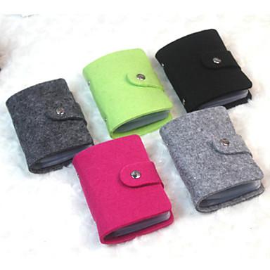 Etui à Passeport & Pièce d'Identité Polyester Portable Couleur Pleine