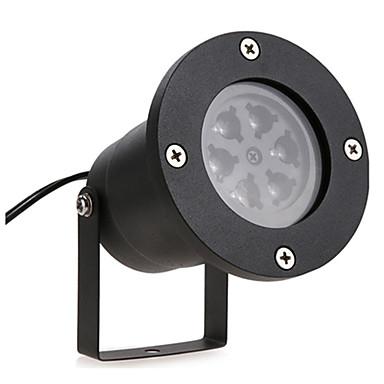 youoklight 1 stück 12 w rasen dekorative projektor lichter rgb + weiß 85-265 v hofgarten 4 led perlen