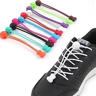 povoljno Vezice za cipele-2kom EVA pjena Vezice Uniseks Proljeće Kauzalni Pink / Tamno siva / # Crno vino (protiv bora)