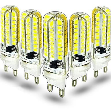 billige Elpærer-5pcs 3.5 W LED-lamper med G-sokkel 400 lm G9 64 LED perler SMD 2835 Dekorativ Smuk Varm hvit Kjølig hvit 220-240 V 110-130 V