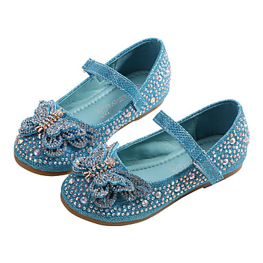 c878a5ea2 MRLOTUSNEE® Girls' PU(Polyurethane) Flats Toddler(9m-4ys) / Little  Kids(4-7ys) Comfort / Flower Girl Shoes Bowknot / Sequin / Sparkling Glitter  Silver ...