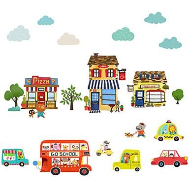 Koriste-seinätarrat - Animal Wall Tarrat Eläimet / Muodot Lastenhuone / Kids Room