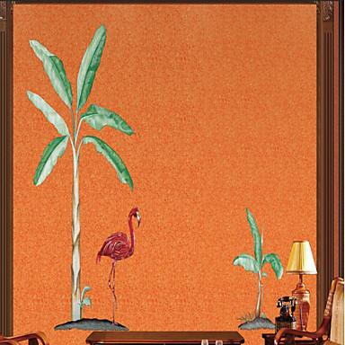 tapeta / Nástěnná malba / Nástěnné látky Netkané textilie Wall Krycí - lepidlo požadováno stromy a listí / secesní motiv / 3D
