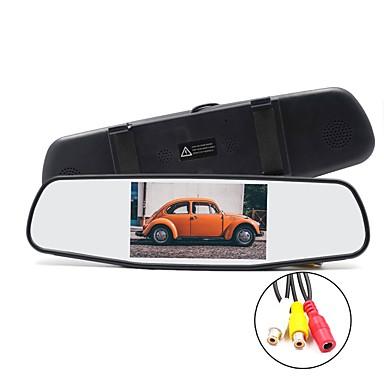 voordelige Automatisch Electronica-5 inch lcd-scherm bedrade auto achteruitkijkset auto achteruitkijkmonitor plug and play / multifunctioneel display / helderheidsaanpassing voor auto