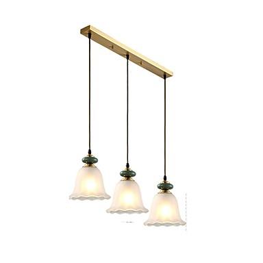 3-light Mini Luci Pendenti Faretto Metallo Bicchiere Creativo, Nuovo Design 110-120v - 220-240v #07182675 Alta Qualità E Poco Costoso
