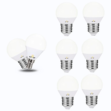 tanie Żarówki-EXUP® 6 szt. 5 W Żarówki LED kulki 450 lm E14 E26 / E27 G45 12 Koraliki LED SMD 2835 220-240 V 110-130 V