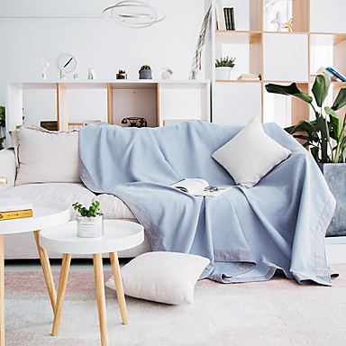 sohva tyyny Yhtenäinen / Kasvit / Moderni Jakardi 100% puuvilla slipcovers